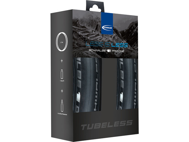 SCHWALBE Pro One Cubierta Set Tubeless 25-622